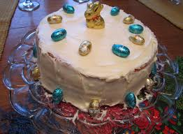 Easter Cake Decorations Carrot Cake And Easter Weekend Leslie The Foodie