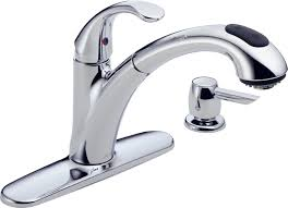 Single Kitchen Faucet Kitchen Makeovers Chrome Kitchen Faucet With Spray Single