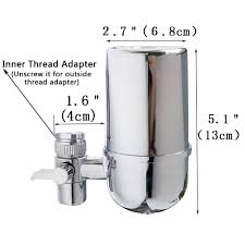 kabter healthy faucet water filter system for bathroom and kitchen how to clean water filter filled with activated carbon kdf55 that can reduce contaminants like sediment chlorine cysts benzene asbestos