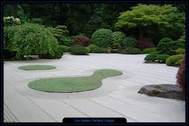 Zen Rock Garden by Japanese Rock Garden Wallpaper