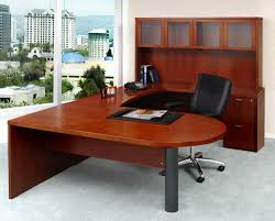 U Shaped Computer Desk With Hutch by U Shaped Office Desk Saveemail Traditional Home Office Desks For