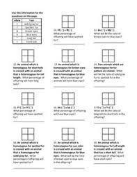 need an introductory genetics worksheet genetics worksheets