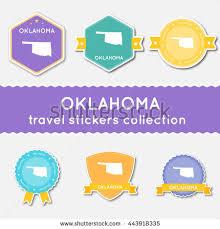 Oklahoma travel style images Oklahoma vector seal vintage usa state stock vector 404081002 jpg