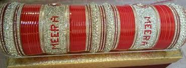 indian wedding chura indian bridal chura at rs 3499 set bridal chura with name