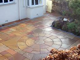 Slabbed Patio Designs Slabbed Patios Gardens