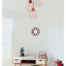 ton bureau mets un peu de dans ta décoration de ton bureau les miroirs en bois