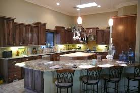 custom cabinets walnut maple kitchen