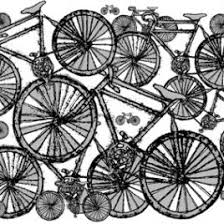 bicycle wrapping paper wrapping paper helena tyce designs