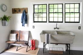 Sink For Laundry Room by Modern Farmhouse Laundry Room Reveal Beneath My Heart