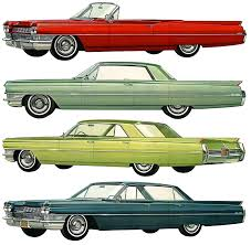 1964 cadillac paint charts and color codes