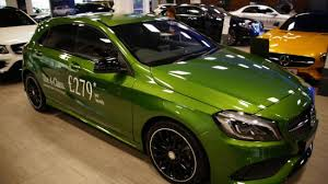 mercedes green a class amg in albeit green picture of mercedes at