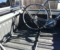 homemade truck bed bikes truck bed bike rack plans pvc bike rack for pickup