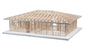 Hipped Roof House 1 Story Hip Roof House Framing Kit 478520 100 Ic Midwest