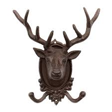 stags wall decoration cast iron garden ornament co