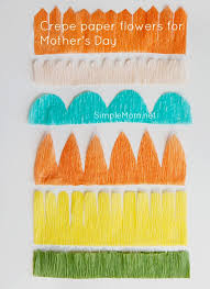 crepe paper flowers crepe paper flowers for s day the of simple