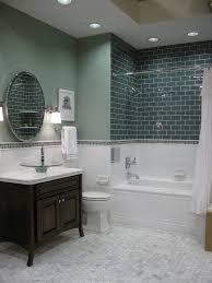 spare bathroom reveal ceramic subway tile subway tile
