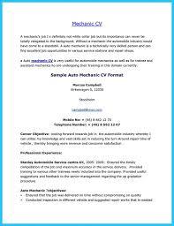 auto mechanic resume sample resume samples and resume help