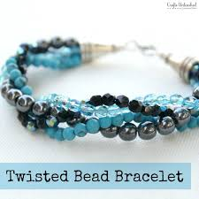 make beads bracelet images How to make a bracelet with twisted bead strands stylish jpg