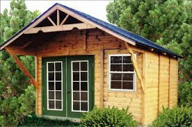 rustic backyard outdoor with lowes tiny house shed kit top
