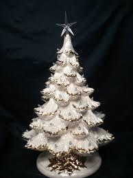 ceramic christmas tree light kit gold or silver tips 16 18 tall full christmas tree light kit base