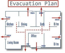 home fire safety plan flame clipart evacuation plan pencil and in color flame clipart
