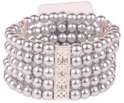 Wrist Corsage Supplies Multiple Strand Simple Elegance Corsage Bracelet Corsage