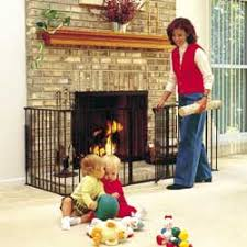 Fireplace Child Safety Gate by Hearth Safety Gate For Childproofing Your Fireplace