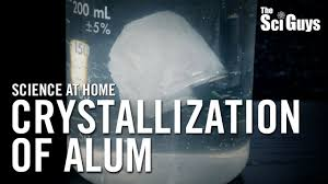 where can i find alum the sci guys science at home se1 ep6 crystallization of alum