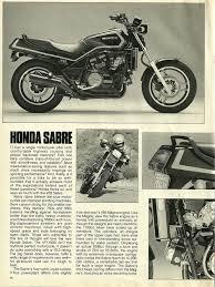 honda sabre 1984 honda v65 sabre road test u2014 ye olde cycle shoppe