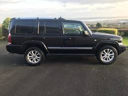 commander jeep 2015 2007 jeep commander 3 0crd limited auto 7 seater trade in