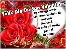 imagenes del amor y amistad para una hermana pensamientos de la vida diaria feliz día de san valentín hermana