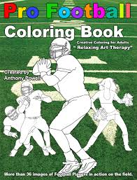 pro football coloring book silhouette designs unlimited