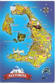 Map Of Santorini Greece by My Postcard Page Greece Santorini