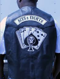 motorcycle jacket vest aces u0026 eights
