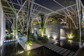 gallery of vegetable trellis cong sinh architects 14
