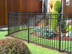 Backyard Fence Styles by Backyard Fencing Ideas Aluminum Fences We Offer A Variety Of