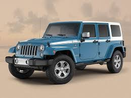 blue jeep wrangler special editions marks end of generation