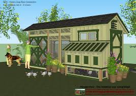 simple chicken house construction plans with easy chicken coop to