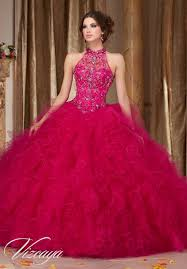 dress for quincea era ruffled tulle quinceañera dress style 89103 morilee