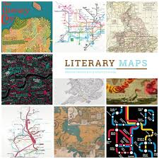 Great America Map by Prepare For Adventure 17 Literary Maps To Explore