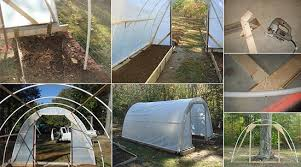 How To Build A Tent How To Build A 100 Dollar Greenhouse