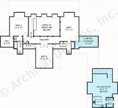 2nd Floor House Plan by Hartwell Empty Nester House Plans Luxury House Plans