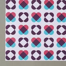 heart wrapping paper cordello heart blue gift wrap cordello home