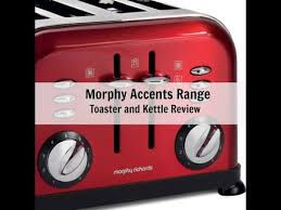 Morphy Richards 2 Slice Toaster Red Morphy Richards Accents 4 Slice Toaster And 43772 Pyramid Kettle