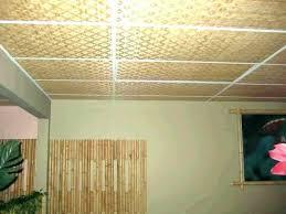 painting drop ceiling tiles can u paint black diy