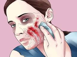 How To Apply Halloween Makeup by How To Make Zombie Makeup In Photo Mugeek Vidalondon