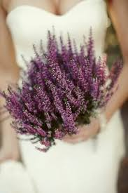 Lavender Bouquet Love Heather For The Scottish Ties Would Probably Also Add
