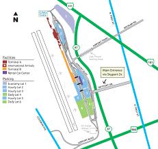 san jose airport on map san jose airport parking guide find cheap sjc parking