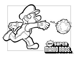 super mario 3d coloring pages coloring