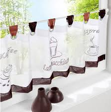 Coffee Print Kitchen Curtains Search On Aliexpress Com By Image